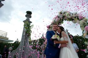 День свадьбы, выездная регистрация брака
